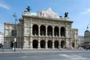 Opera di Stato di Vienna, di giorno (Wiener Staatsoper)