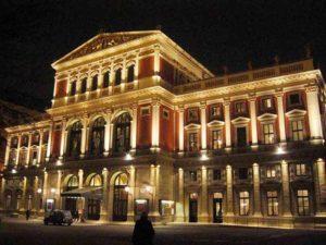 Opera di Stato di Vienna, di notte (Wiener Staatsoper)