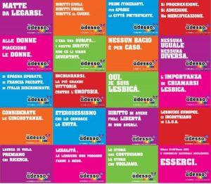 Campagna di comunicazione del VI congresso nazionale ArciLesbica